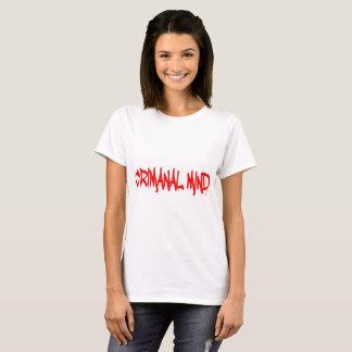 Camiseta Mente criminosa
