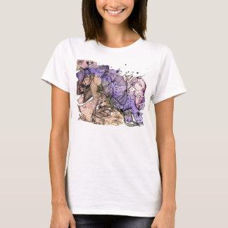 Camiseta Mente lúcido de uma mulher ordinária #1