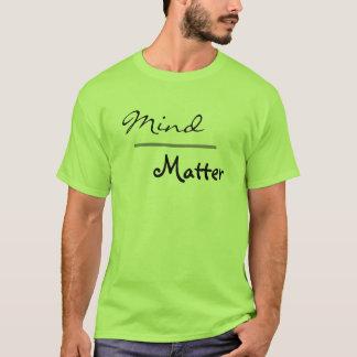 Camiseta Mente sobre a malhação do Gym da matéria mais o