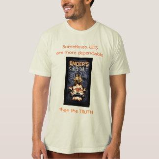 Camiseta Mentiras mais seguras