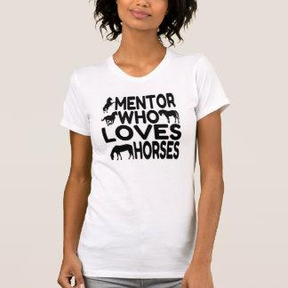 Camiseta Mentor que ama cavalos