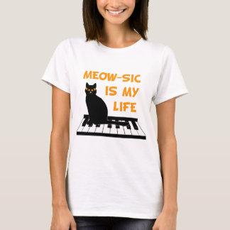 Camiseta Meow-SIC é minha vida