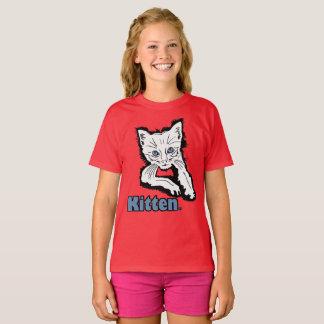 Camiseta Mercadoria animal do vestuário dos miúdos do