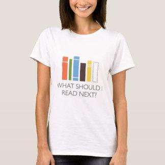 Camiseta mercadoria de WhatShouldIReadNext.com