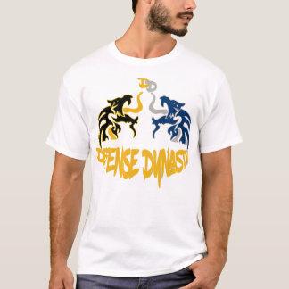 Camiseta Mercadorias da assinatura da dinastia da defesa