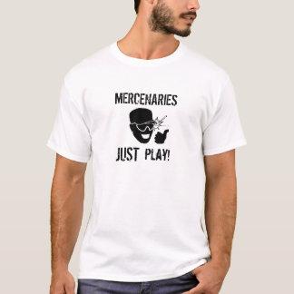 Camiseta Mercenários: APENAS jogo!