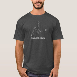 Camiseta Mergulhador da câmera