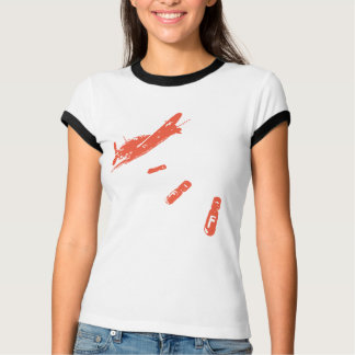 Camiseta Mergulhador da F-Bomba (alaranjado)