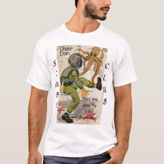 Camiseta Mergulhador Dan