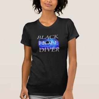 Camiseta Mergulhador do buraco negro do T