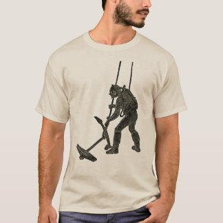 Camiseta Mergulhador francês do vintage com Sicard