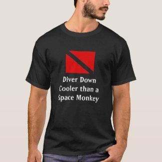 Camiseta Mergulhador para baixo