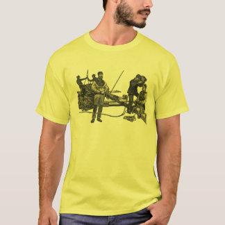 Camiseta Mergulhadores de East River do vintage com