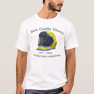 Camiseta Mergulhadores do castelo do mar