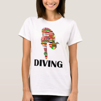 Camiseta Mergulho