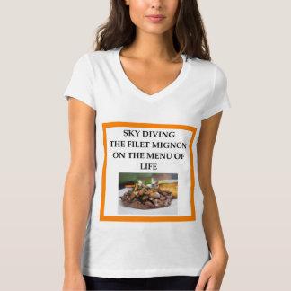 Camiseta mergulho de céu