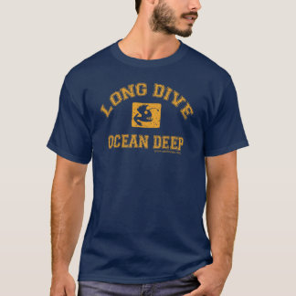 Camiseta Mergulho longo: Oceano profundamente