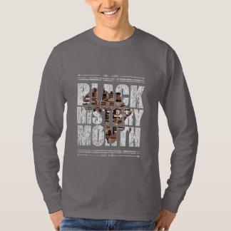 Camiseta Mês preto da história. Raizes africanas