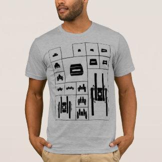 Camiseta Mesa periódica da engrenagem