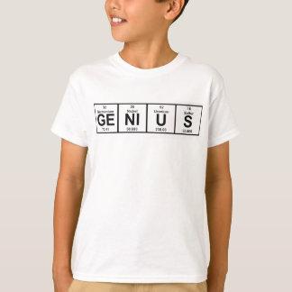 Camiseta Mesa periódica do gênio