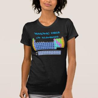 Camiseta Mesa periódica do t-shirt dos elementos