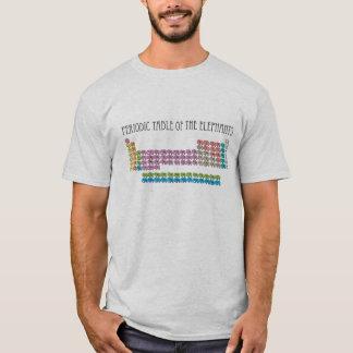 Camiseta Mesa periódica dos elefantes