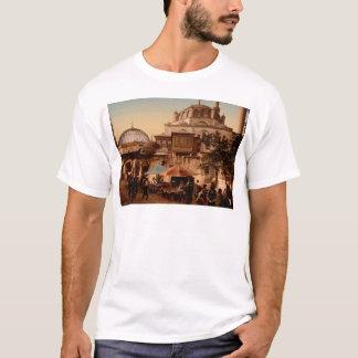 Camiseta Mesquita e rua, Scutari, Constantinople, Turquia