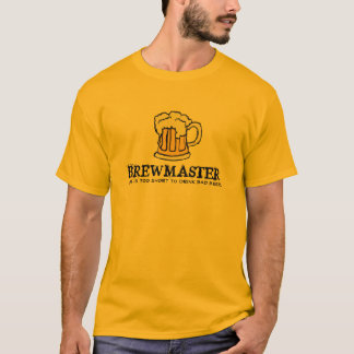 Camiseta Mestre da fermentação - a vida é demasiado curta