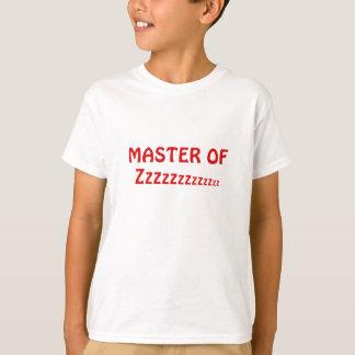Camiseta Mestre de Zzzzzz
