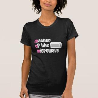 Camiseta Mestre dos t-shirt da microonda (MAMÃ)