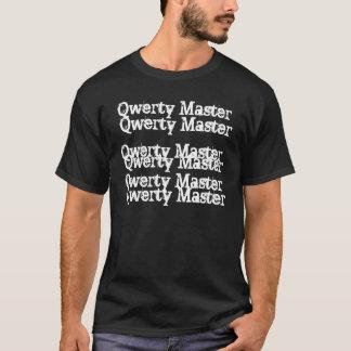 Camiseta Mestre QWERTY