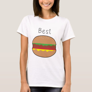 "Camiseta Metade bonito super do hamburguer dos ""do"