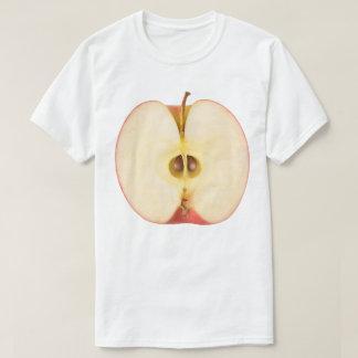 Camiseta Metade da maçã vermelha