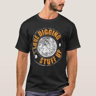 Camiseta Metal a detecção do t-shirt - material de