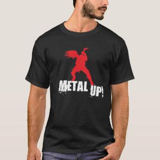 Camiseta Metal acima!