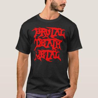 Camiseta Metal brutal da morte