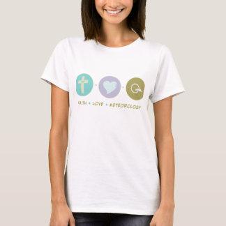 Camiseta Meteorologia do amor da fé