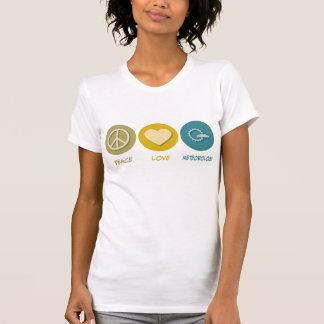 Camiseta Meteorologia do amor da paz