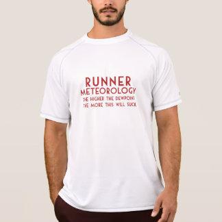 Camiseta Meteorologia do corredor