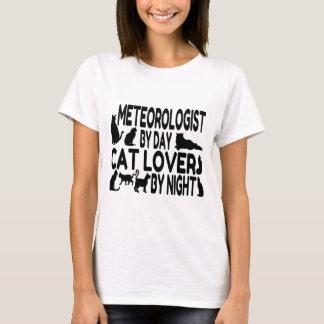 Camiseta Meteorologista do amante do gato