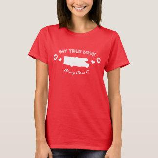 Camiseta Meu amor verdadeiro é meu t-shirt do rv