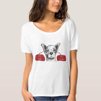 Camiseta Meu cão