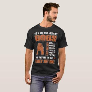 Camiseta Meu cão de Basset Hound são a melhor parte de mim
