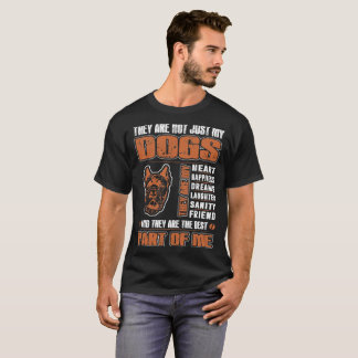 Camiseta Meu cão de Corso do bastão são a melhor parte de