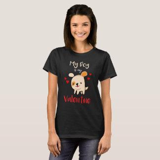 Camiseta Meu cão é meus namorados! t-shirt do dia dos