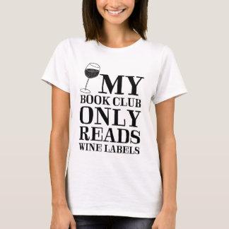 Camiseta Meu clube de leitura lê somente o t-shirt das