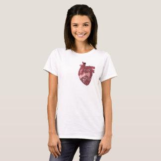 Camiseta Meu coração