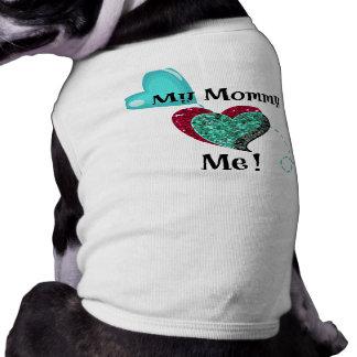 Camiseta Meu coração das mamães mim