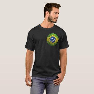 Camiseta Meu coração encontra-se no t-shirt da nação de