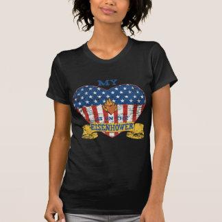 Camiseta Meu coração está no Eisenhower